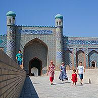 Entrance to the Palace of Khudoyar Khan / Khudayar Khan's Palace, Kokand, Fergana Province, Uzbekistan