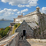 The Castillo del Morro / Morro Castle / Castillo de los Tres Reyes Magos del Morro, fortress guarding the entrance to Havana bay, Cuba