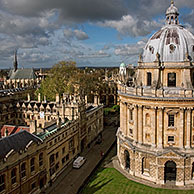 Radcliffe Camera at Oxford, Oxfordshire, England, UK